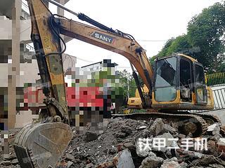 湖南-娄底市二手三一重工SY135-8S挖掘机实拍照片