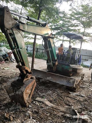 佛山小松PC45MR-3挖掘机实拍图片