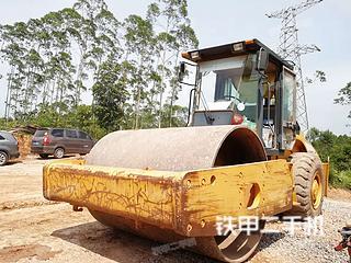 广西-玉林市二手柳工CLG620压路机实拍照片