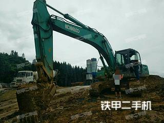 四川-泸州市二手神钢SK250-8挖掘机实拍照片