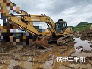 贵州-贵阳市二手小松PC270-7挖掘机实拍照片