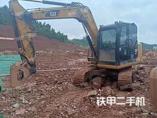 四川-遂宁市二手卡特彼勒307E液压挖掘机实拍照片