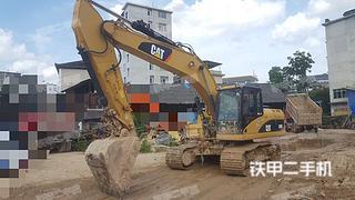 贵州-黔东南苗族侗族自治州二手卡特彼勒320D液压挖掘机实拍照片