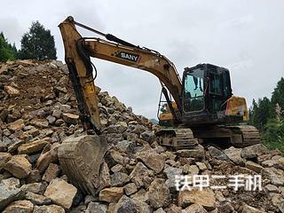 湖南-张家界市二手三一重工SY135C-10挖掘机实拍照片