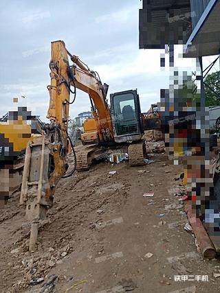 陕西-汉中市二手现代R110-7挖掘机实拍照片