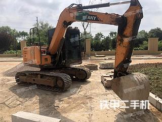江苏-南京市二手三一重工SY75C-9挖掘机实拍照片