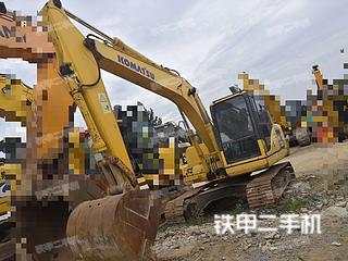 河南-郑州市二手小松PC130-7挖掘机实拍照片