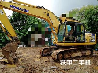 广东-广州市二手小松PC200-8挖掘机实拍照片