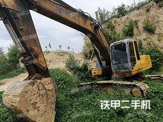 河南-郑州市二手徐工XE260C挖掘机实拍照片