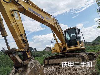 贵州-贵阳市二手小松PC200-8挖掘机实拍照片