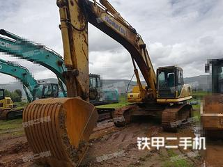 曲靖小松PC360-7挖掘機實拍圖片