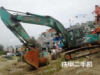 陕西-安康市二手神钢SK350LC-8挖掘机实拍照片