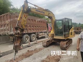广西-贵港市二手小松PC70-8挖掘机实拍照片