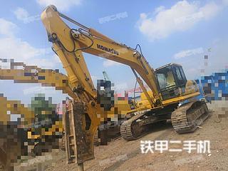 河南-郑州市二手小松PC270-7挖掘机实拍照片