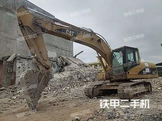 广西-贵港市二手卡特彼勒320C挖掘机实拍照片