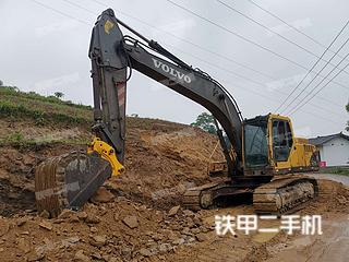 四川-达州市二手沃尔沃EC210BLC挖掘机实拍照片