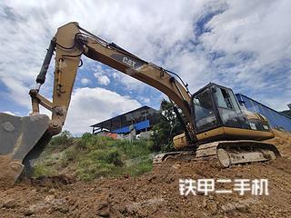 广西-河池市二手卡特彼勒320D液压挖掘机实拍照片