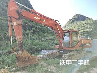 广西-河池市二手斗山DH225LC-7挖掘机实拍照片