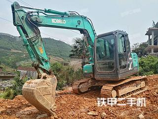 广西-桂林市二手神钢SK75-8挖掘机实拍照片