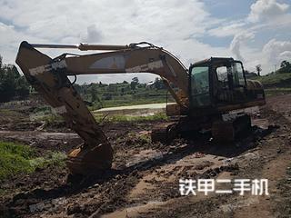 四川-自贡市二手卡特彼勒320C挖掘机实拍照片