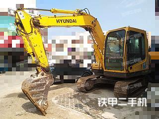 二手现代 R80-7 挖掘机转让出售