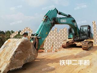 江西-抚州市二手神钢SK350LC-8挖掘机实拍照片