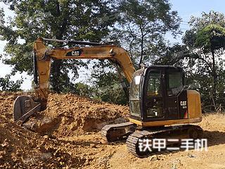 江西-九江市二手卡特彼勒307E液压挖掘机实拍照片