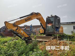 广西-贵港市二手三一重工SY65C挖掘机实拍照片