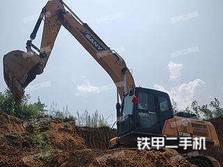 湖南-湘西土家族苗族自治州二手三一重工SY265C挖掘机实拍照片
