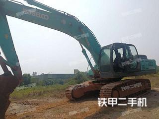 江西-吉安市二手神钢SK350LC-8挖掘机实拍照片