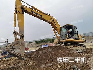 四川-绵阳市二手小松PC210LC-8M0挖掘机实拍照片