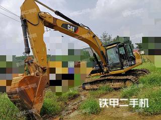 山东-枣庄市二手卡特彼勒326D2液压挖掘机实拍照片