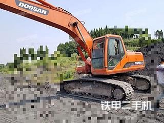 四川-达州市二手斗山DH220LC-V挖掘机实拍照片