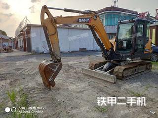 江苏-泰州市二手三一重工SY55C挖掘机实拍照片