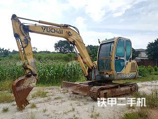 广西-玉林市二手玉柴YC60-6挖掘机实拍照片