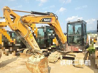 贵州-贵阳市二手三一重工SY55C挖掘机实拍照片