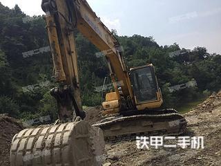 安康小松PC220-8挖掘機實拍圖片
