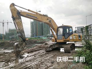 广东-佛山市二手小松PC200-7挖掘机实拍照片