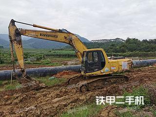 广东-韶关市二手小松PC200-6E挖掘机实拍照片