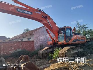 斗山DH500LC-7挖掘机实拍图片