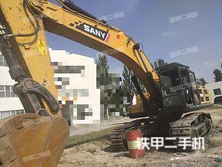 宁夏-银川市二手三一重工SY485H挖掘机实拍照片