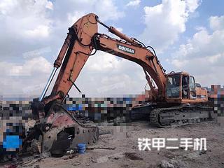 宁夏-银川市二手斗山DH420LC-7挖掘机实拍照片