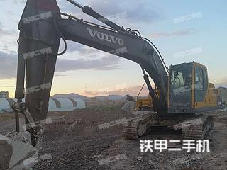浙江-丽水市二手沃尔沃EC210B挖掘机实拍照片