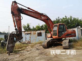 山东-淄博市二手斗山DH220LC-V挖掘机实拍照片