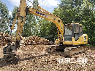 广西-贵港市二手小松PC130-7挖掘机实拍照片