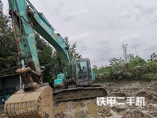 四川成都市二手神钢SK260LC-8挖掘机实拍照片