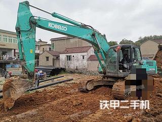 安徽芜湖市二手神钢SK210LC-8挖掘机实拍照片
