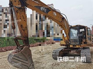 四川-广安市二手卡特彼勒320A挖掘机实拍照片