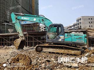 湖北天门市二手神钢SK210LC-8挖掘机实拍照片