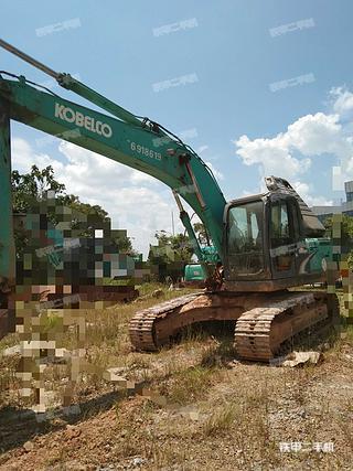 江西南昌市二手神钢SK210LC-8挖掘机实拍照片